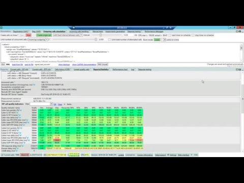 StarTrinity SIP Tester 8000 G711 channels
