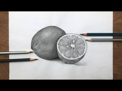 how-to-draw-lemon-in-pencil-sketch-|-still-life-|-fruit-drawing-step-by-step