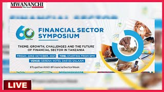 LIVE: FINANCIAL SECTOR SYMPOSIUM