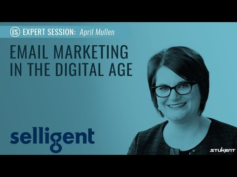 Email Marketing  April Mullen  Stukent Expert Session