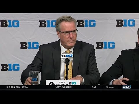 2017 Big Ten Men's Basketball Media Day - Iowa's Fran McCaffery