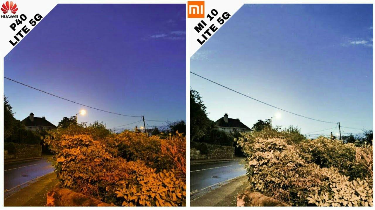 Huawei P40 Lite 5G vs Xiaomi Mi 10 Lite 5G | Camera test