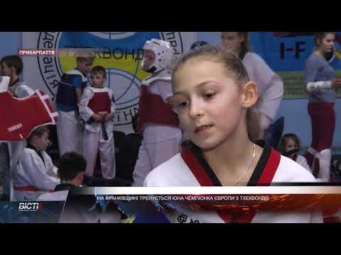 На Франківщині тренується юна чемпіонка Європи з тхеквондо