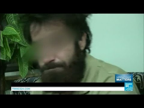 Syria: Meeting IS group prisoners captured by Kurdish forces