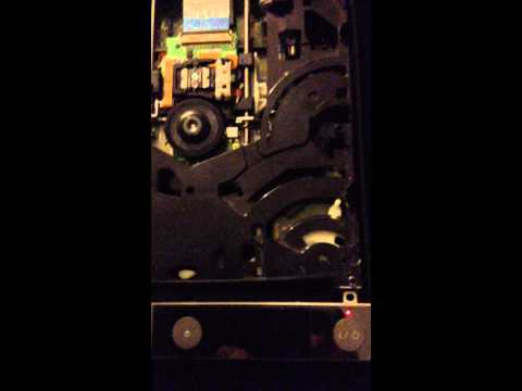 PS3 slim/fat bluray cd drive fix- disc not spinning freely