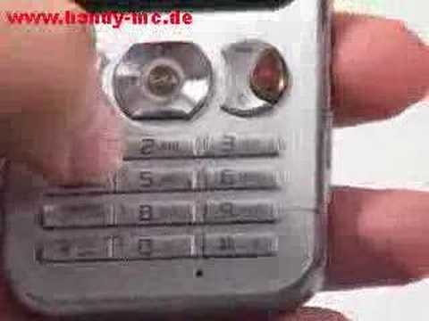 Sony-Ericsson W890i Bedienung