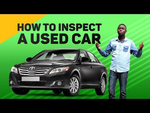 How To Inspect A Used Car Before Buying