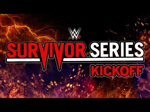 Survivor Series Kickoff: Nov. 20, 2016