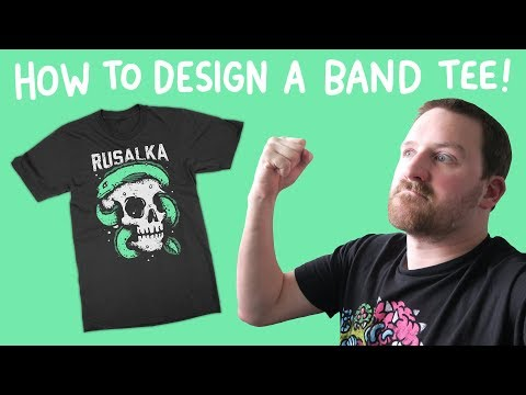 How to Design a Band Tshirt
