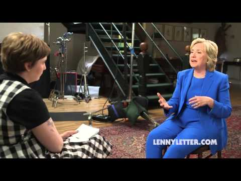 The Lenny Interview: Hillary Clinton on Occupy Wall St