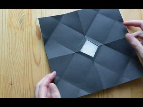 Make An Origami Camera Obscura