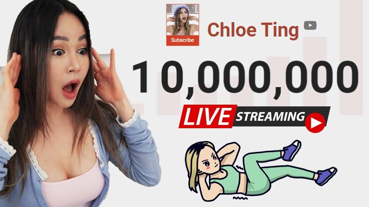 Download 10 Million Subs LIVESTREAM | Let's hangout + Workout