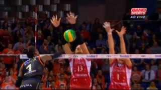 FINAL - Busto Arsizio ( ITA ) x Eczacibasi ( TUR ) - Liga dos Campeões de Vôlei Feminino 2014/15