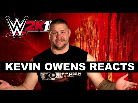 Kevin Owens reacts to WWE 2K18 cover Superstar Seth Rollins