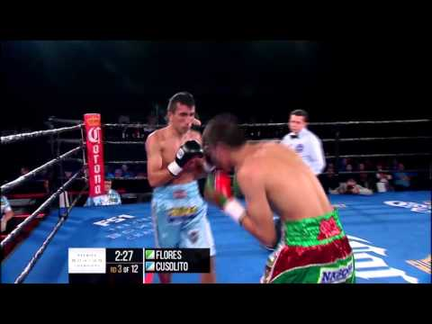 Flores vs Cusolito FULL FIGHT: Sept. 22, 2015 - PBC on FS1