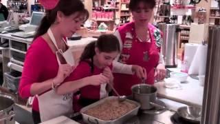 Kukla's Kouzina: Karithopita Cooking Demo