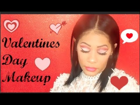 Get Ready With Me Valentines Day Makeup 2018
