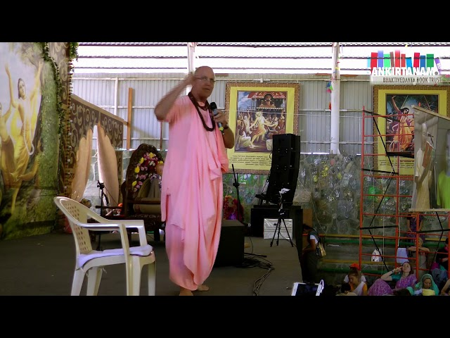 Удивительная история санкиртаны от Е.С.Индрадьюмна Свами на Фестивале Санкиртаны. Садху Санга 2019