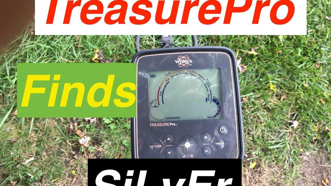 Great Starter Metal Detector finds SiLvEr , White's TreasurePro  31_16