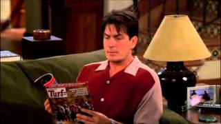 Two and a Half Men - Alan likes pregnant women