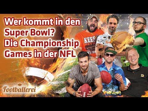 ALLES zu den NFL Championship Games  | Footballerei SHOW