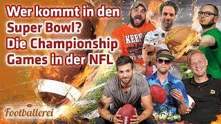 ALLES zu den NFL Championship Games    Footballerei SHOW