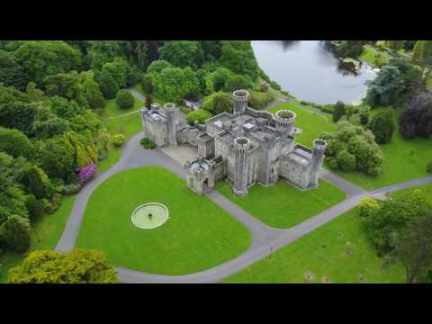 Johnstown Castle Co. Wexford Aerial Footage 4K