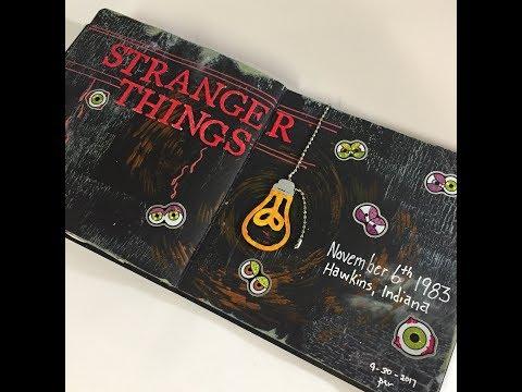 Stranger Things Journaling  #Strangerthingscollab