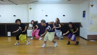 Usher Show Me Choreographer YUZZY 2012/9/11