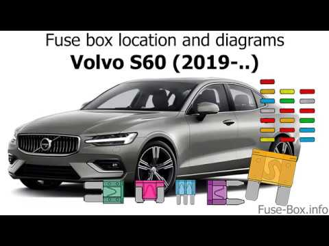 Fuse box location and diagrams: Volvo S60 (2019-..) - YouTube | Volvo S60 Rear Fuse Box |  | YouTube