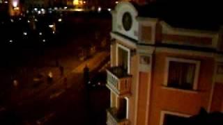 Vista Nocturna del Parque de San Agustin