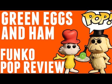 Green Eggs & Ham (Sam I Am & Friend) | Funko Pop! Review