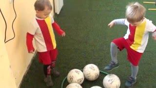 Footy Kids тренировки по футболу для малышей.Одесса