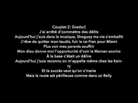 Fetty Wap feat. Gradur - Trap Queen Remix PAROLES