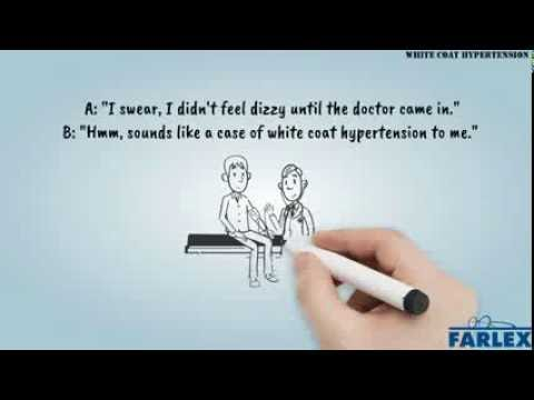 White coat hypertension - Idioms by The Free Dictionary