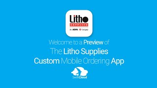 Litho Supplies - Mobile App Preview - LIT832W