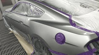 Video Ingot Silver 2017 GT Mustang: Spray Painting download MP3, 3GP, MP4, WEBM, AVI, FLV Oktober 2018