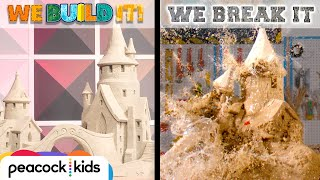 Building Epic Sand Castle + SMASHING IT! | WE BUILD IT WE BREAK IT