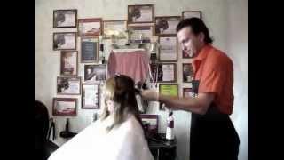 Свадебная прическа, макияж, окрашивание / parikmaher-na-dom.com / Москва(Услуги парикмахера стилиста с выездом на дом по Москве: http://parikmaher-na-dom.com/ Окрашивание волос на дому: http://parikma..., 2012-01-04T16:31:09.000Z)