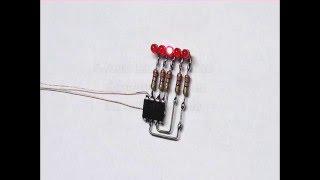 LED Lauflicht 5 Kanäle mit einem Chip