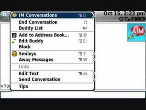 T-Mobile Sidekick LX - Instant Messaging