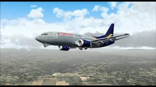 Orient Thai Airlines OX8106 737-300 HS-BRB Bangkok-Don Mueang (DMK) - Chiang Mai (CNX)