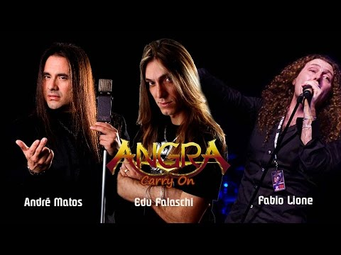 Angra - Carry On - André Matos | Edu Falaschi | Fabio Lione