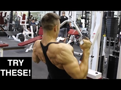 5 Advanced Lat Pulldown Variations for a BIGGER Back (GROW YOUR BACK NOW)