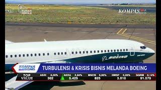 Turbulensi dan Krisis Bisnis Melanda Boeing