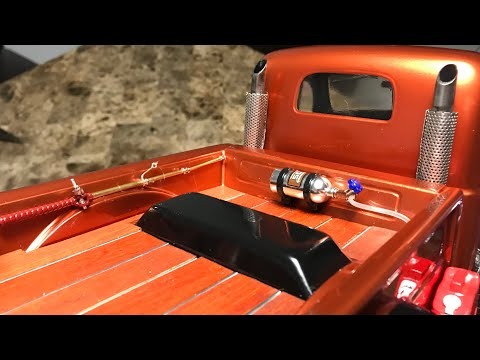 DIY custom truck bed with real wood (very light) 😎👍🏼 TRX4 SPORT