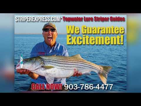 Lake Texoma Summer Striper-Burning Slab Spoons-Striper Express-Lake Texoma Fishing Guides
