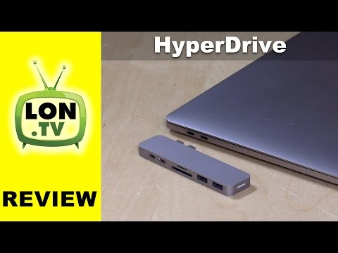 HyperDrive for Macbook Pro Review : USB-C Hub / Dock with Thunderbolt Passthrough