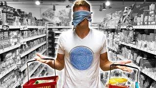🙈 BLIND Einkaufen und KOCHEN