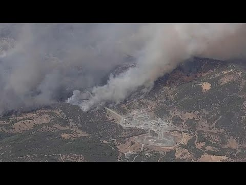 Mendocino Complex Fire now the largest in California history
